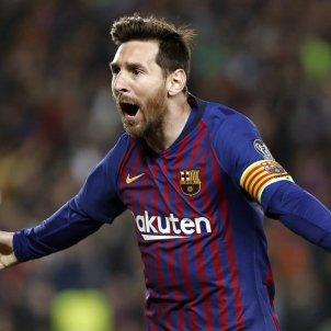 Messi celebració Gol Barça United EFE
