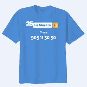 La Marató de TV3 samarreta 25 edició   CCMA