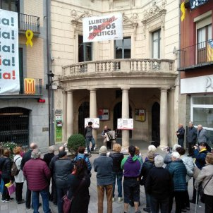berga ajuntament pancarta presos politics acn