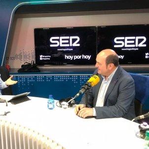 EuropaPress 2071850 Entrevista del presidente del EBB del PNV Andoni Ortuzar en la Cadena SER