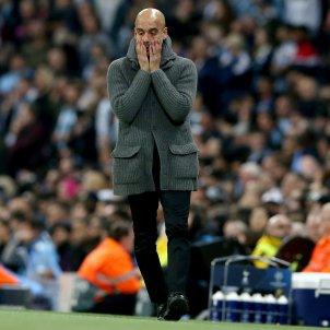 Pep Guardiola Manchester City Tottenham Champions EFE