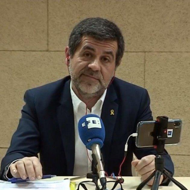 Jordi Sanchez Roda De Premsa Efe Soto Del Real
