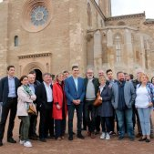 Aturada sorpresa de Pedro Sánchez a Lleida