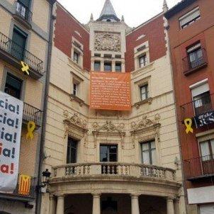 Ajuntament Berga sense pancarta presos polítics - ACN