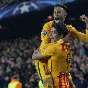 Neymar Suarez Atletico EFE