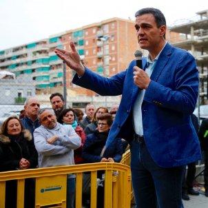 Pedro Sánchez Badalona campanya 28-A - Sergi Alcàzar