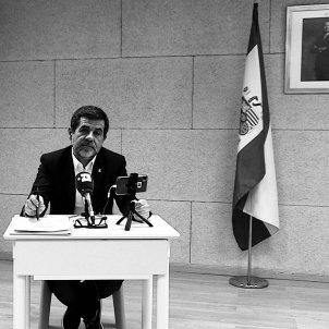 Jordi Sanchez blanc i negre