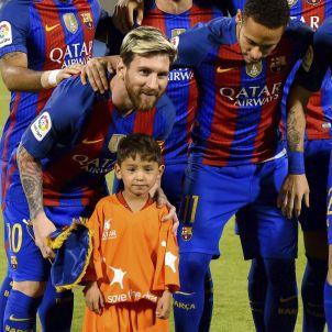 Leo Messi nen afganès Murtaza Ahmadi Efe