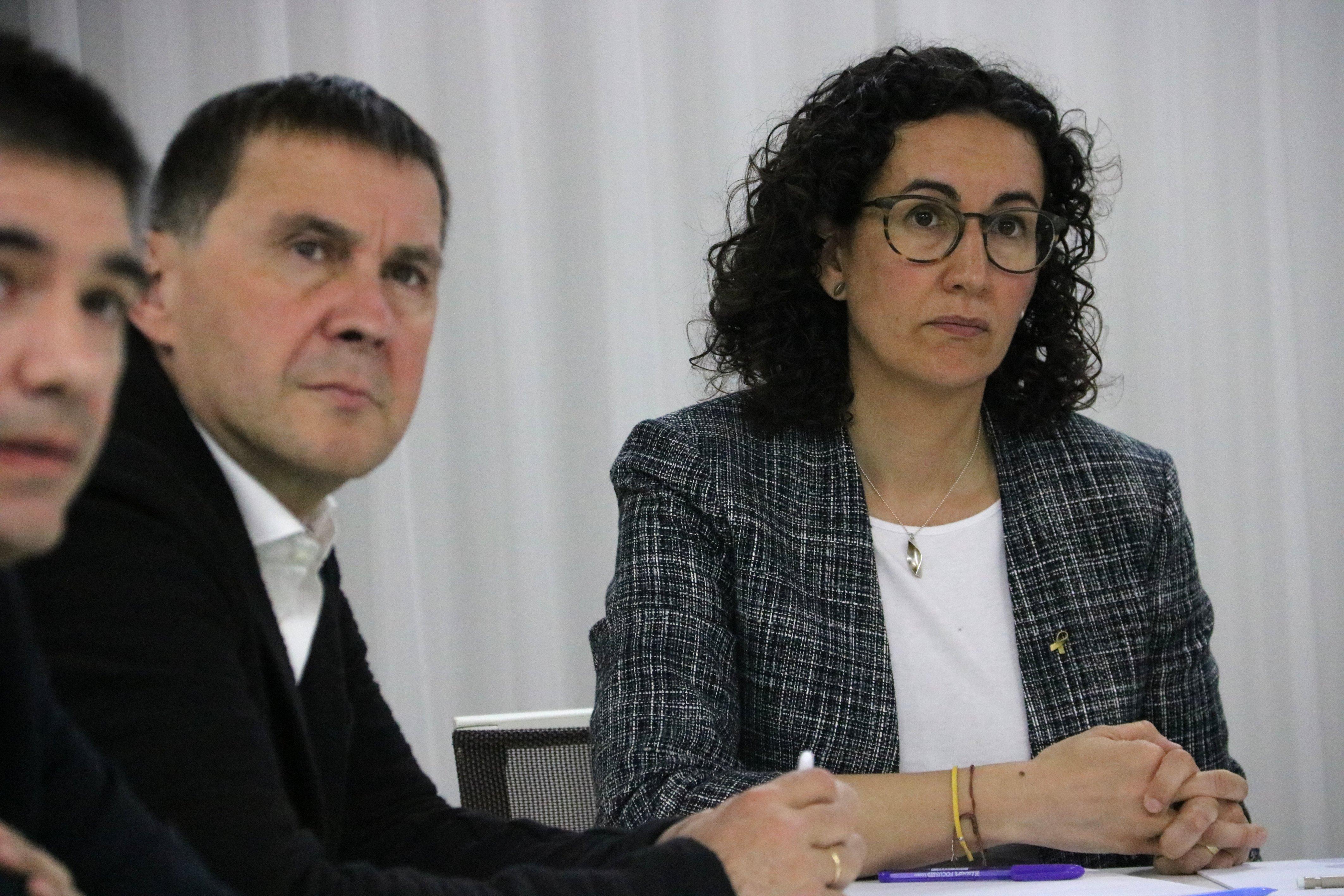 Marta Rovira Arnaldo Otegi - ACN