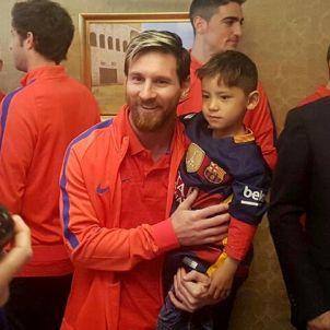 Leo Messi nen afganès Murtaza Ahmadi 2 Efe