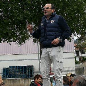 Sergi Santamaría PP Girona Twitter   @sergio stamaria