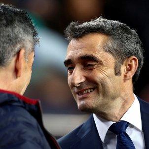 Ernesto Valverde Barça Reial Societat EFE