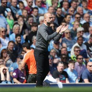 Pep Guardiola Manchester City Tottenham Premier EFE