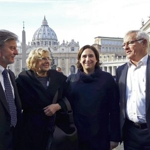 Colau Vaticà - EFE