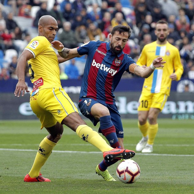 Naldo Mayoral Levante Espanyol EFE