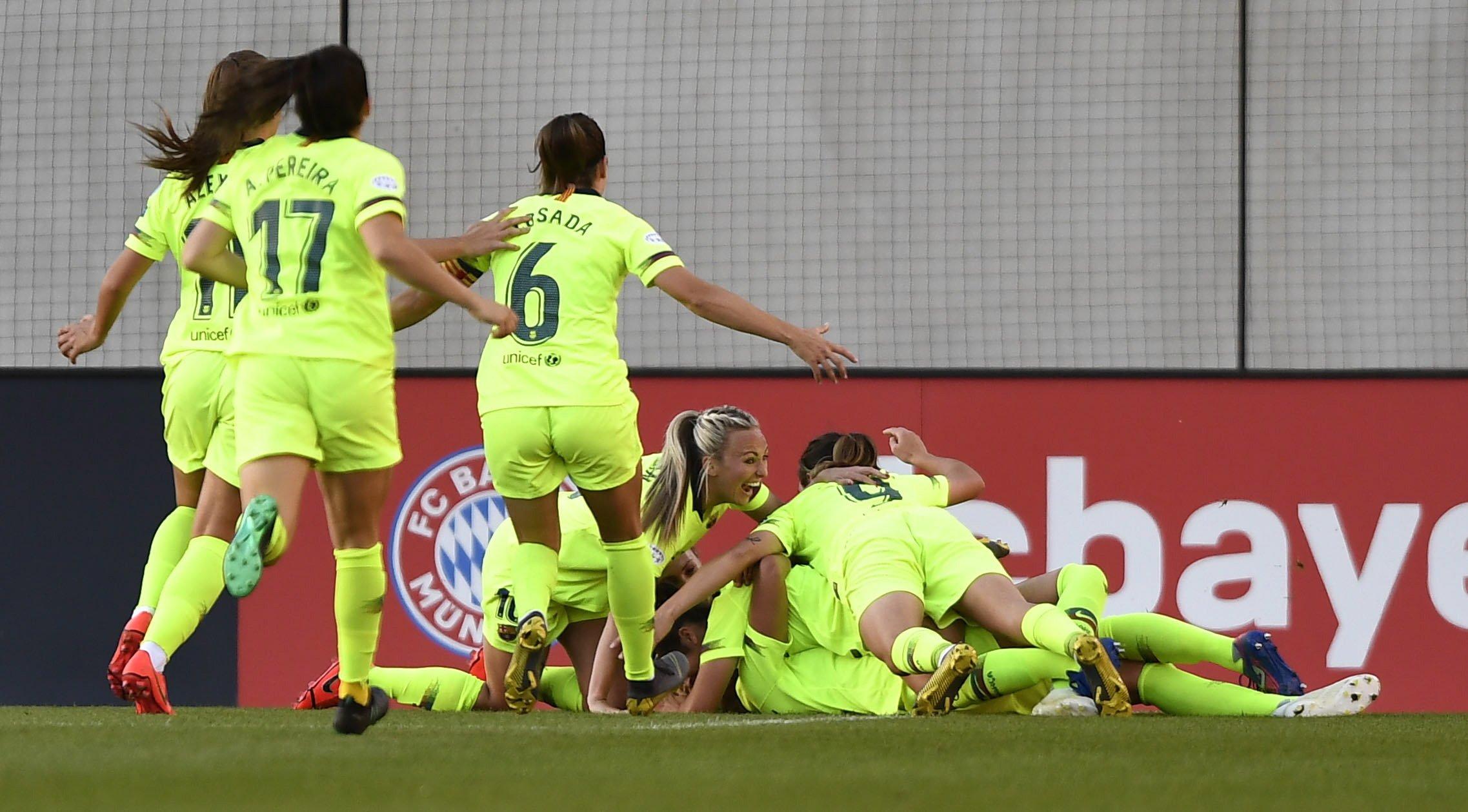 Barça Bayern femení Women's Champions League EFE