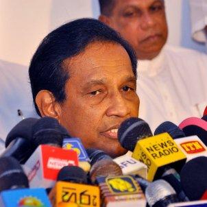 Rajitha Senaratne portaveu Govern Sri Lanka, EFE