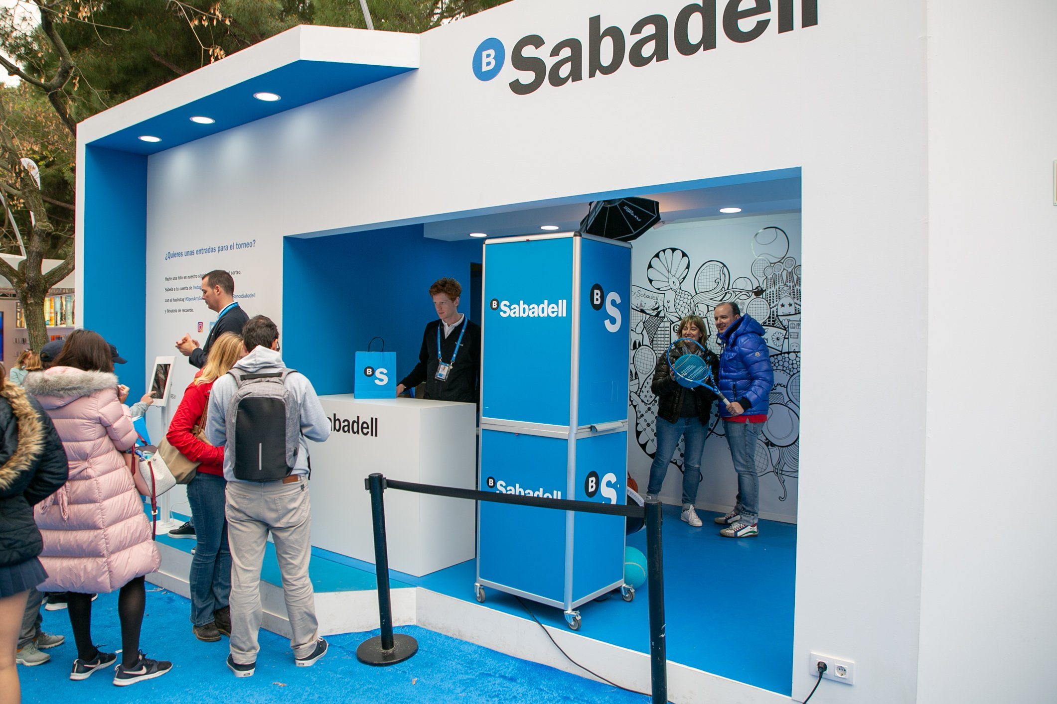 Mural Yoshi Barcelona Open Banc Sabadell 2019