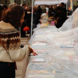 Sant Jordi llibres plàstic Sergi Alcàzar