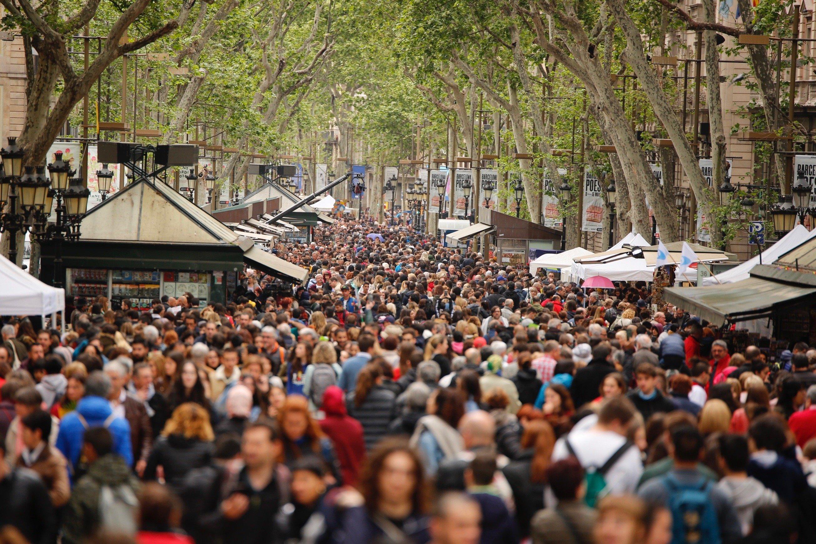 Ambient Rambles Sant Jordi 2019 Sergi Alcàzar
