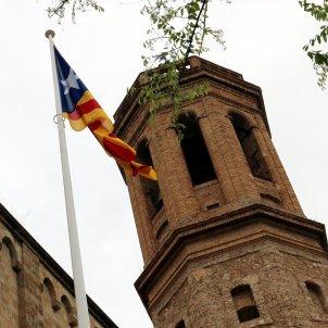 Estelada Racó del Campanar de Sabadell ACN