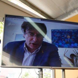 Carles Puigdemont Iu Forn parada Sant Jordi El Nacional - Sergi Alcàzar