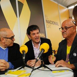 Sergi Sol Maxi Free Junqueras parada Sant Jordi El Nacional - Sergi Alcàzar
