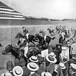 Cursa de Cavalls Debi d'Epson, 1901 (Sidney Paget)