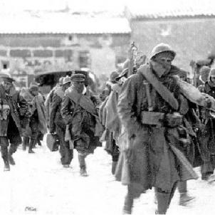 Batalla de Teruel. Brigades Internacionals