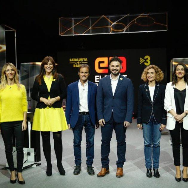 EL NACIONAL debat candidats tv3 28-a - sergi alcazar