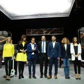grup candidats debat TV3 28-A - Sergi Alcàzar
