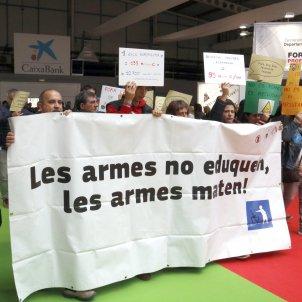 Protesta contra l'exèrcit Lleida