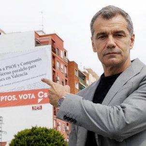 Toni Cantó, candidat Ciutadans Generalitat valenciana abril 2019 EFE