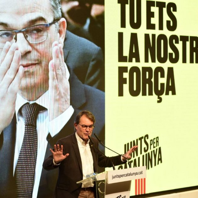 Artur Mas acte campanya JxCat - @JuntsXCAT