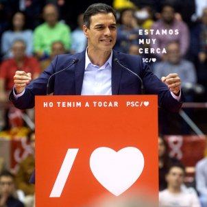 Pedro Sanchez Barcelona Efe
