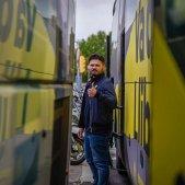 Rufian autobus Junqueras - Marc Puig ERC
