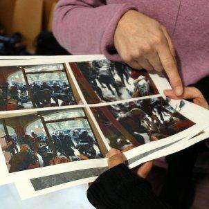 denunciats mostren fotos carregues policia 1 O Girona ACN