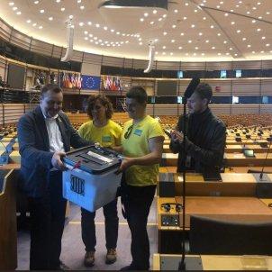 Ebrencs Parlament europeu @evarierac