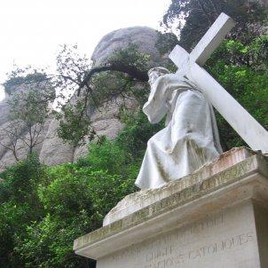 Rosario Monumental Montserrat Venanci Vallmitjana Canaan Wikipedia