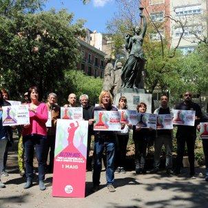 Elisenda Paluzie manifestació 1 de maig ANC Alcem nos ACN