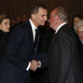 Felip VI i Joan Carles I / Efe