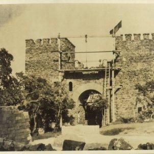 El Castell de Cap Roig durant la seva construcció Obra Social Caixa