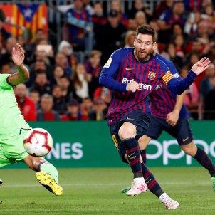 Messi Barça Llevant Gol Lliga EFE