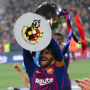 Messi Trofeu Lliga EFE