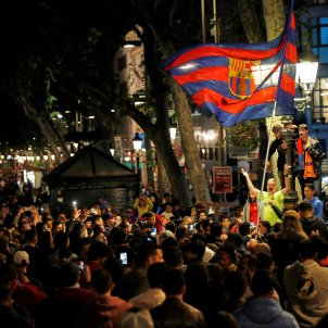 Barcelona Canaletes Barça Celebració Lliga EFE