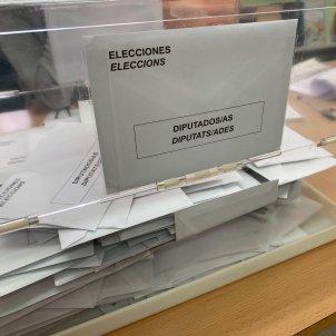 eleccions generals urna Congrés Sergi Alcàzar