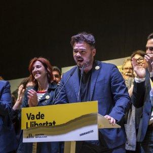 ERC Nit electoral Celebracio Rufian Torrent Maragall Aragones Telechea eleccions generals 2019 SergiAlcàzar05