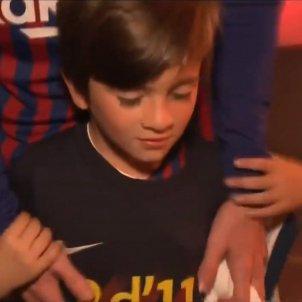 Thiago Messi @TyCSports