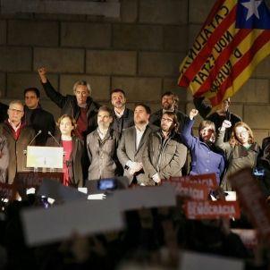 barcelona homenatge forcadell alcazar