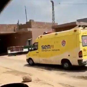 ambulancia sem siria - captura